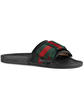 Pursuit Bow Slide Sandal by Gucci