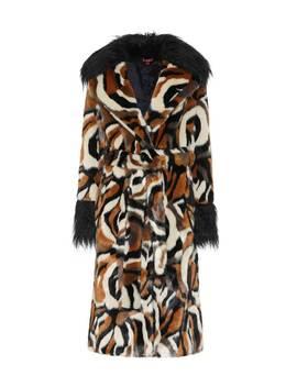 Faux Fur Coat by Staud