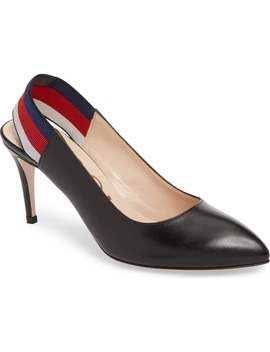 Sylvie Slingback Pump by Gucci