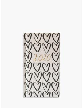 Caroline Gardner Hearts & Geometric Slim Diary 2020 by Caroline Gardner