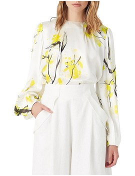 Mimosa Thurlow Silk Blouse by Aje
