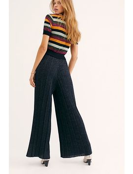 Knitted Lurex Stripe Jumpsuit by Scotch & Soda