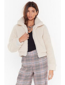 Cozy Little Thing Called Love Faux Shearling Jacket by Nasty Gal