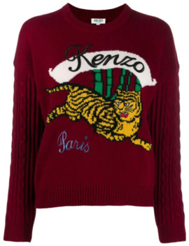 Running Tiger Sweater by Kenzo