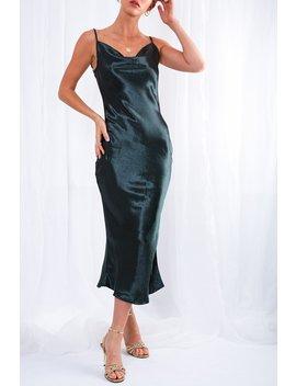 Keisha Slip Dress by Pretty Lavish