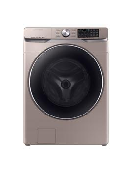 4.5 Cu. Ft. High Efficiency Champagne Front Load Washing Machine With Steam And Super Speed by Samsung