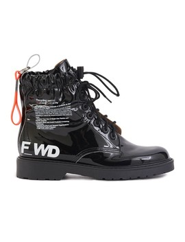 Logo Ankle Boots by F Wd