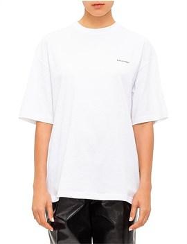 Balenciaga Oversized Cacoon T Shirt Co by Balenciaga
