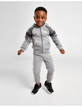 Adidas Originals Spirit Full Zip Tracksuit Infant by Jd Sports