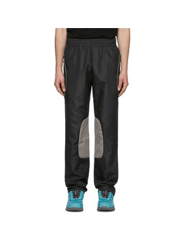 Black & Brown Xp Track Pants by All In