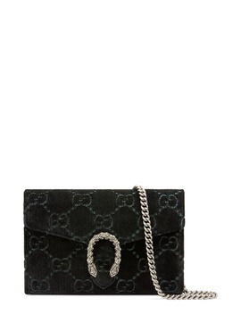 Dionysus Velvet Wallet On A Chain by Gucci