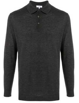Knitted Polo Shirt by Venroy