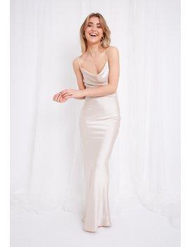 Keisha Slip Maxi Dress by Pretty Lavish