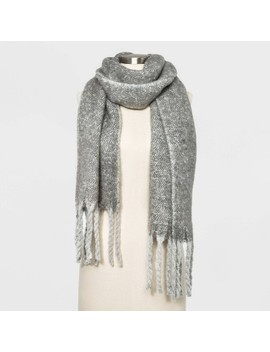 Women's Brushed Blanket Scarf   A New Day™ by A New Day