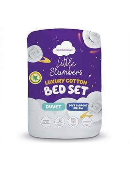 Little Slumbers Allergy Protection 4 Tog Bedset   Cotbed523/5681 by Argos