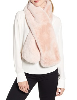 Faux Fur Pull Through Scarf by Ugg®