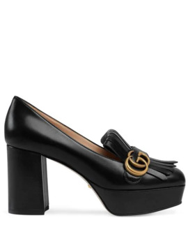 Decollete In Pelle Loafers by Gucci