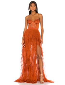 X Revolve Bustier Gown by For Love & Lemons