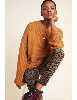 Anais Ribbed Sweater by Glam