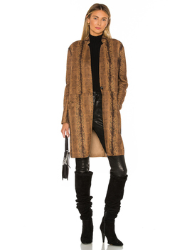 Copperhead Faux Leather Coat by Blanknyc