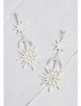 Lunar Lovely Drop Earrings by Modcloth