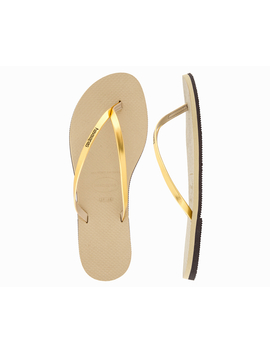 Havaianas You Metallic Thongs   Sand/Gold by Havaianas