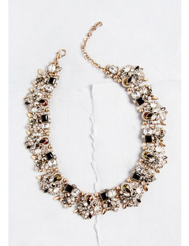 You Stun Me Over Statement Necklace by Modcloth