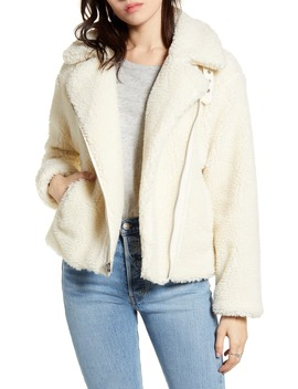 Faux Shearling Moto Jacket by Levi's