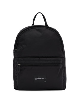 Black Jjj Jound Edition Backpack by A.P.C.