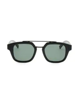 49 Mm Tortoiseshell Square Sunglasses by Dior