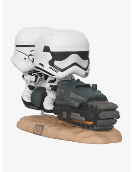 Funko Star Wars: The Rise Of Skywalker Pop! First Order Tread Speeder Movie Moments Vinyl Collectible by Hot Topic
