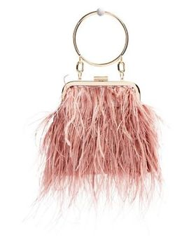 Frosty Feather Grab Bag by Topshop