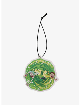 Rick And Morty Portal Air Freshener by Hot Topic