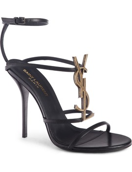 Cassandra Ysl Strappy Sandal by Saint Laurent