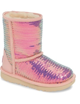 Classic Short Ii Sequin Boot by Ugg