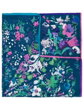 Floral Pattern Scarf by Salvatore Ferragamo
