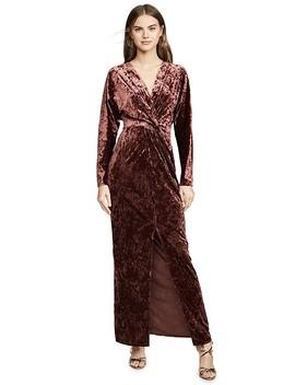 Roslyn Twist Front Midi Dress by Wayf