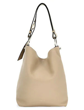 Lana Leather Hobo Bag by Strathberry