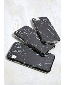 Black Marble I Phone 6/6s/7/8 Case by Urban Outfitters