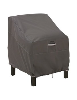 Ravenna Patio Lounge Chair Cover   Dark Taupe   Classic Accessories by Classic Accessories