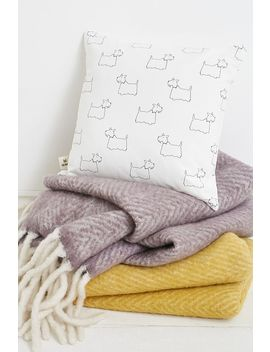 Scotty Dog Cushion by Urban Outfitters