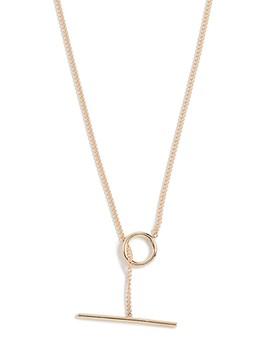 14k Toggle Wrap Chain Necklace by Ariel Gordon Jewelry