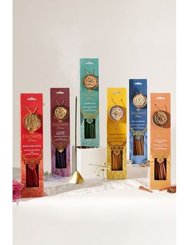 Esscents Home Assorted 30 Incense Sticks & Holder by Esscents Home
