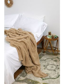 Stone Amped Fleece Blanket by Urban Outfitters
