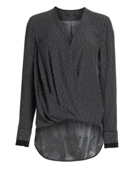 Victor Silk Wrap Blouse by Rag & Bone
