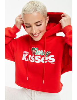 Hersheys Merry Kisses Hoodie by Forever 21