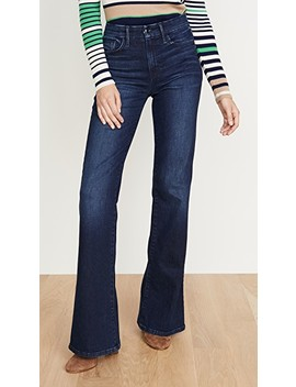 The Molly High Rise Flare Jeans by Joe's Jeans