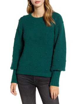 Rachell Parcell Bobble Stitch Sweater by Rachel Parcell
