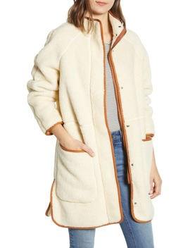 Estate Faux Shearling Coat by Madewell