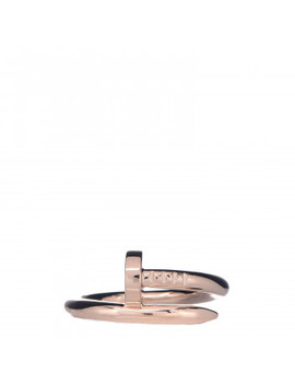 Cartier 18 K Pink Gold Juste Un Clou Ring 56 7.5 by Cartier